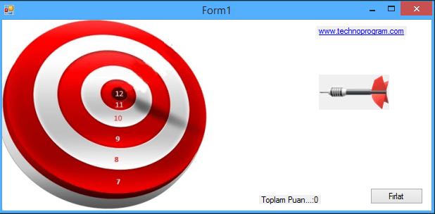 c# dart oyunu